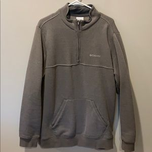 Men's Columbia quarter zip pullover